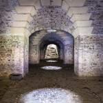 Chemin d'accès aux souterrains du Fort de Domont en TTHDR