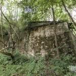 Caponnière à deux directions au Fort du Haut Buc