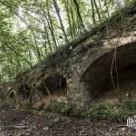 Douves de la première enceinte du Fort du Haut Buc