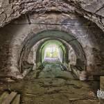 Croisement de tunnels dans les souterrains du Fort en TTHDR