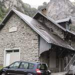 Ancienne gare de Etsaut actuel centre pour le parc national des Pyrénées