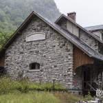 Ancienne gare Lescun-Cette-Eygun abritant l'association la goutte d'eau depuis 1984