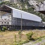Gare de Canfranc en cours de travaux de réhabilitation