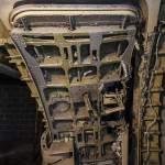 Porte de l'Airbus de la salle d'entraînement à l'assaut des avions du GIGN