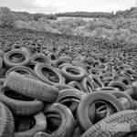Décharge de pneus Lachapelle Auzac N&B