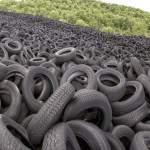 Panoramique de la décharge de pneus de Lachapelle Auzac