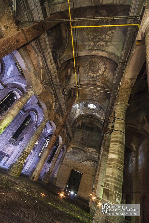 Eglise abandonné du monastère de Mechelen