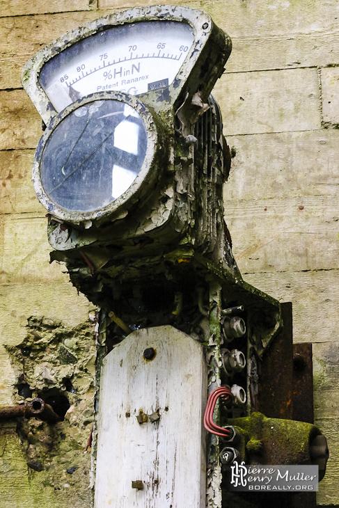 Appareil de mesure du mélange d'hydrogène dans l'azote dans l'usine SAFEA
