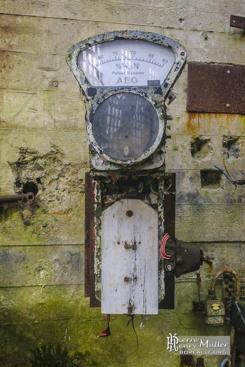 Appareil de mesure de répartition de l'hydrogène et d'azote à l'usine SAFEA