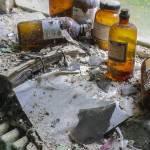 Détails des produits chimiques, du radiateur et de la fenêtre de l'infirmerie à SAFEA