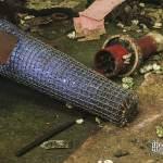 Filtre métallique de grande taille à l'usine SAFEA