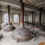 Salle principale de brassage de Stella Artois à Leuven