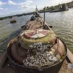 Bouée de surface de secours et écoutille de sauvetage du sous-marin russe