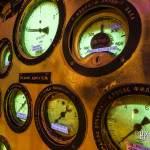 Cadrans phosphorescents à aiguille du sous-marin russe