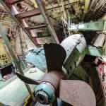 Double hélice contre rotative de la torpille d'entrainement
