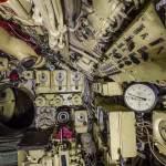 Poste du barreur du sous-marin Black Widow