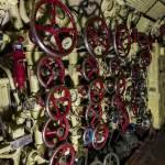 Poste de contrôle des ballasts du sous-marin