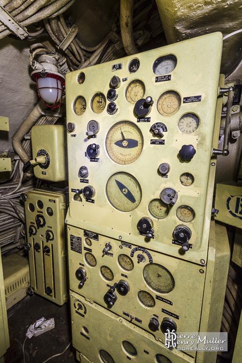 Poste de paramétrage des torpilles