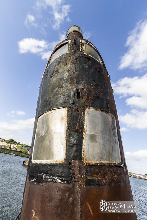 Symétrie du kiosque du sous-marin russe