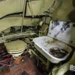 Toilettes du sous-marin classe Foxtrot
