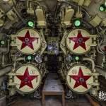 Tubes lance torpilles arrière du sous-marin Foxtrot