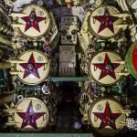 Tubes lance torpilles avant du sous-marin