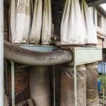 Récupérateur de poussières industrielles