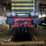 Avant d'une locomotive SNCB