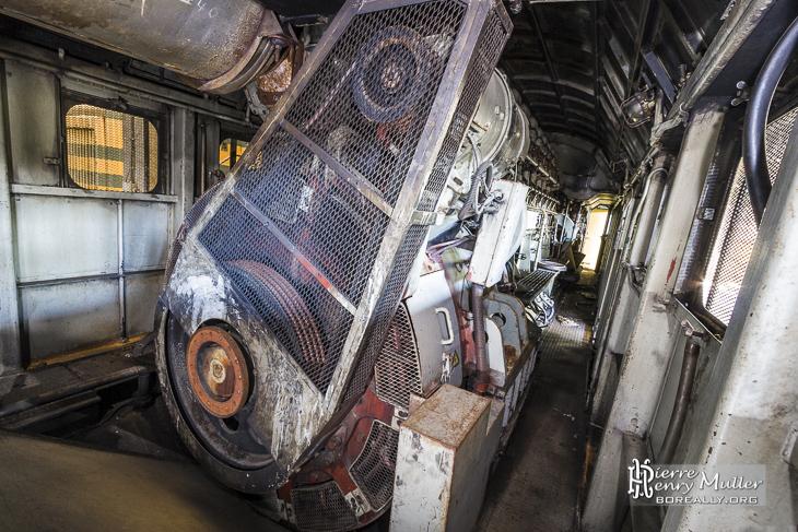Bloc moteur d'une motrice série 51