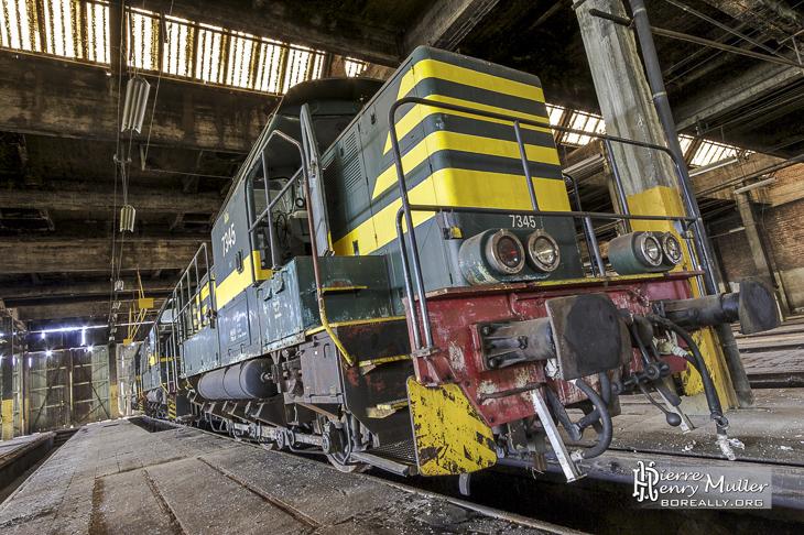 Locomotive 7345 SNCB class 73