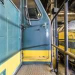 Pont latéral d'une locomotive SNCB