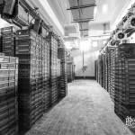 Chambre froide de stockage de matière première