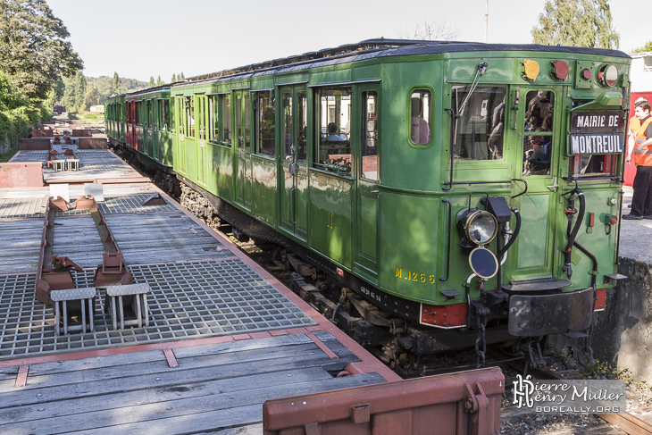 Rame métro historique Sprague Thomson