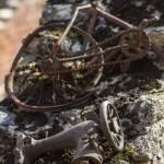 Cadre de vélo pour enfant et machine à coudre Singer