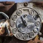 Détails du cadran de la pompe à essence