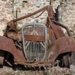 Epave de Citroen traction à Oradour