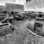 Epaves de voitures d'Oradour sur Glane