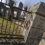 Fronton de l'école des filles d'Oradour sur Glane