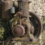 Moteur hydrolique rouillé