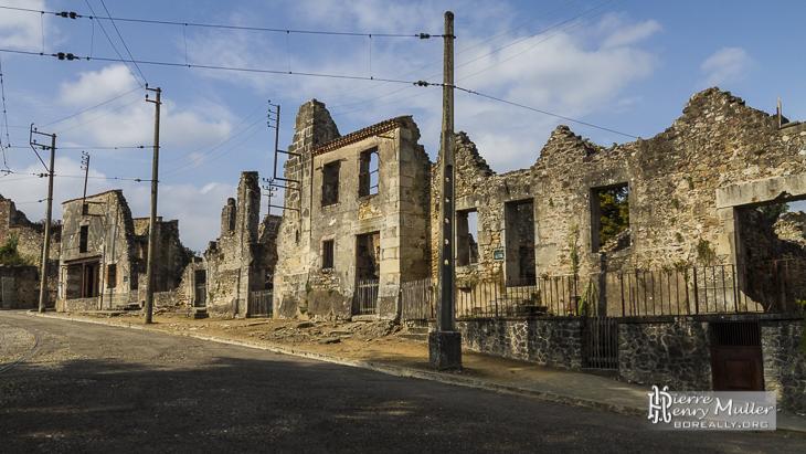 Oradour sur Glane village martyr de la seconde guerre mondiale