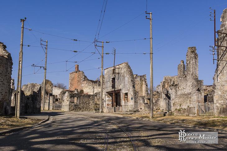 Oradour le village martyr de la seconde guerre mondiale