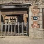 Ruine de la boulangerie Bouchoule à Oradour