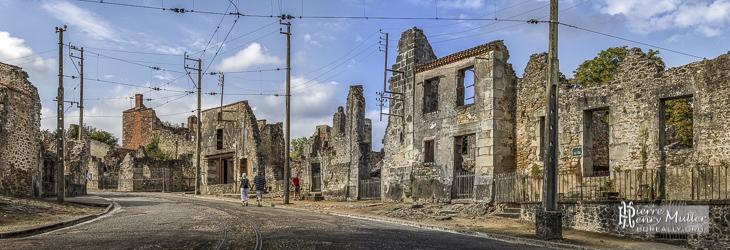 Village martyr d'Oradour sur Glane