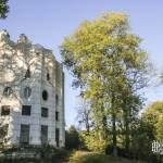 Colone détruite du Désert de Retz et son paysage à Chambourcy