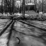 Tente Tartare du Désert de Retz en hiver