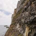 Vue en direction du roc Vaudieu depuis l'embouchure du tunnel du Chaudron