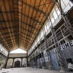 Intérieur du Hangar Y à Meudon classé monument historique en 2000