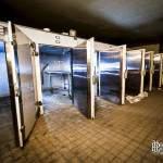 Cellule réfrigérante de la morgue dans les sous-sols de l'hôpital Richaud