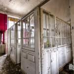 Maternité de l'hôpital Richaud à Versailles en HDR