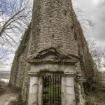 Donjon du château de La Roche Guyon en HDR